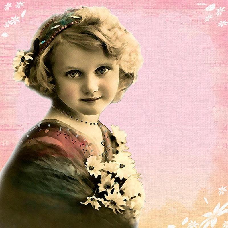 La femminuccia di Sezze - Bimba anni venti
