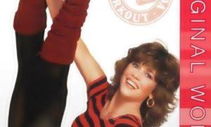 aerobica da fare in casa - Jane Fonda in una posa da erobica