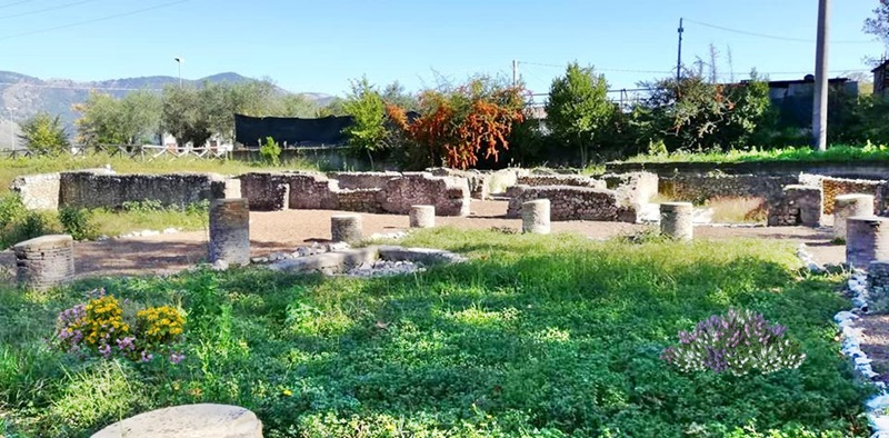 Privernum - Colonnine di un calidarium