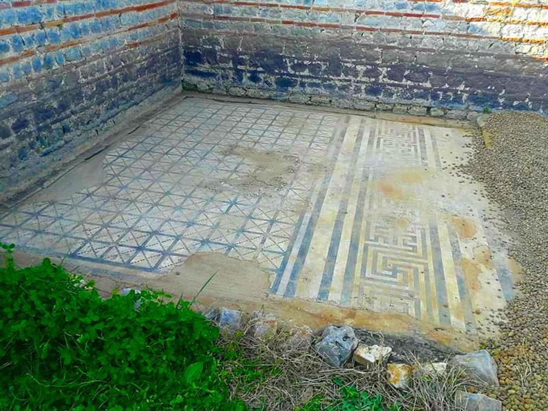 Privernum - Mosaico rinvenuto