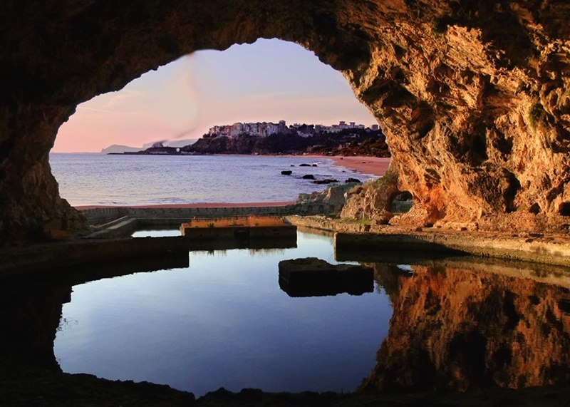 la villa di Tiberio a Sperlonga - la Grotta di Tiberio