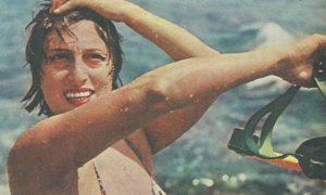 Anna Magnani al Circeo - Magnani Al Mare in due pezzi