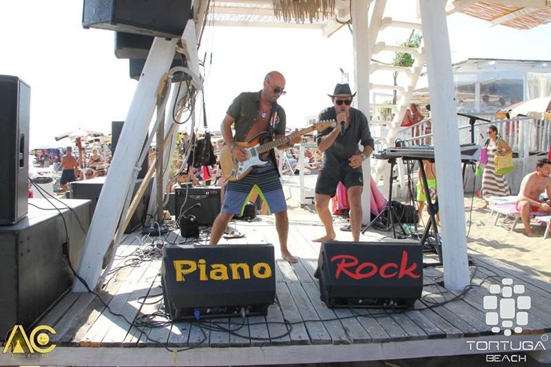 piano rock -  Pianorock durante l'esibizione