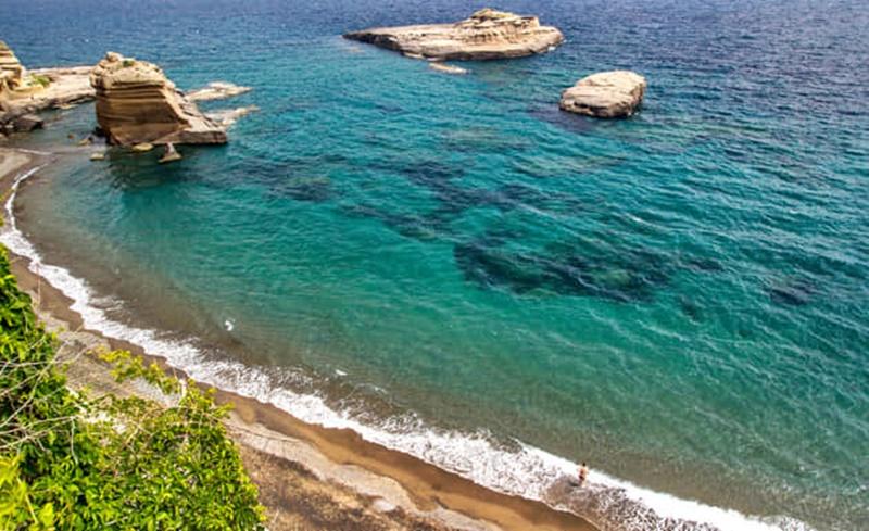 Ventotene - mare cristallino dell'isola
