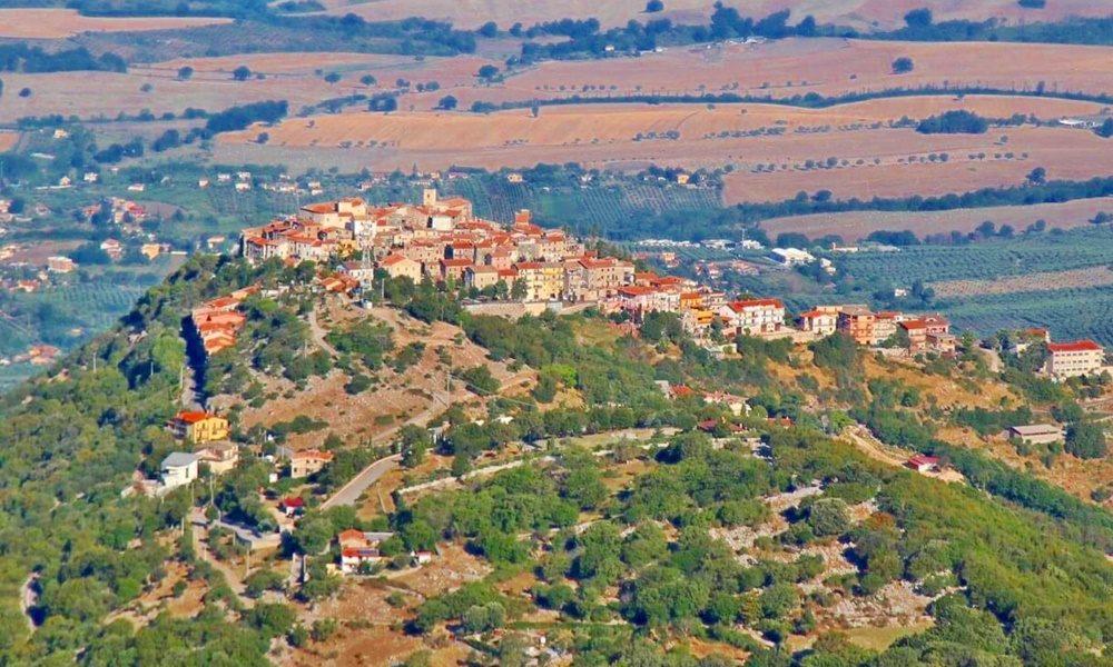 Rocca Massima - Rocca Massima in panoramica