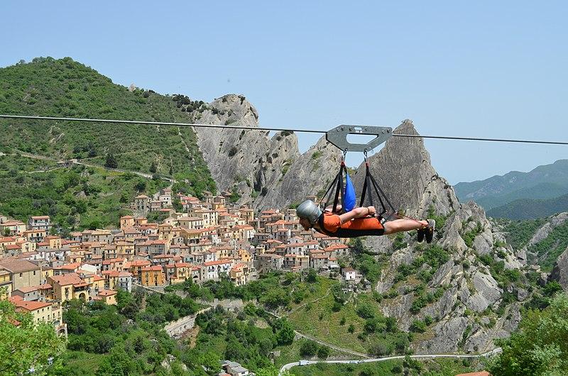 Rocca massima - Volo D'angelo