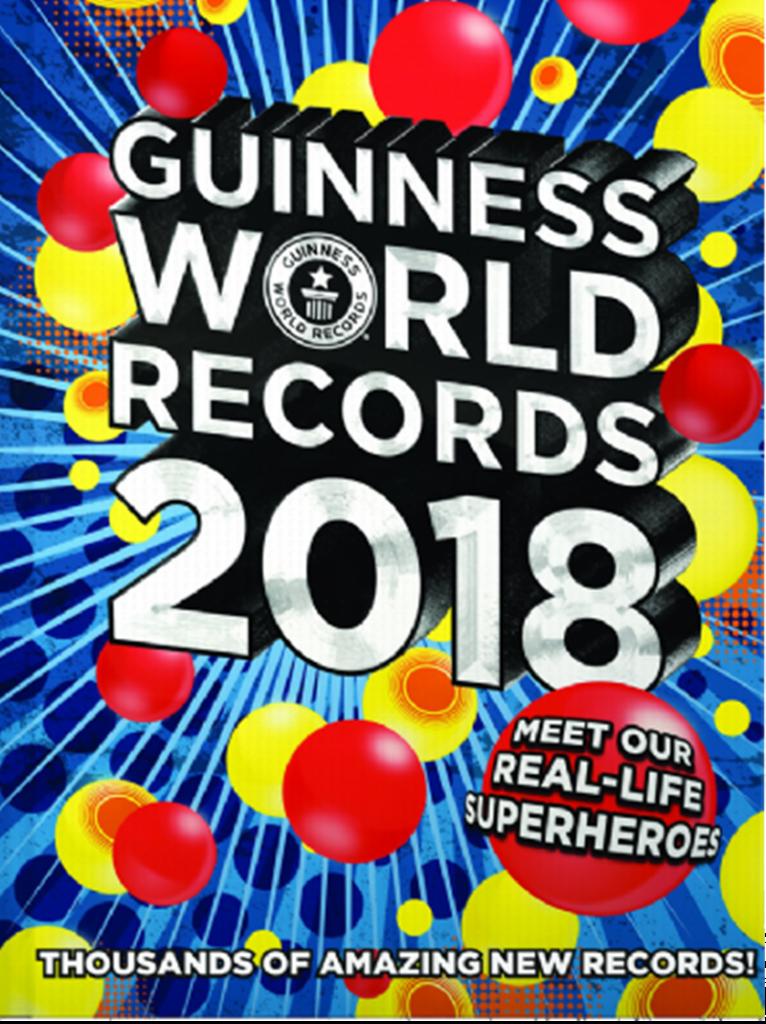 Libro - libro dei record del 2018