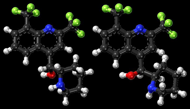 idrossiclorochina - Molecola Ricostruita in laboratorio