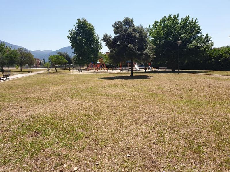 Rimborsi ai cittadini - Parco Faustinella come appare ora
