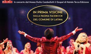 Gospel di Natale a Latina - locandina dell'evento