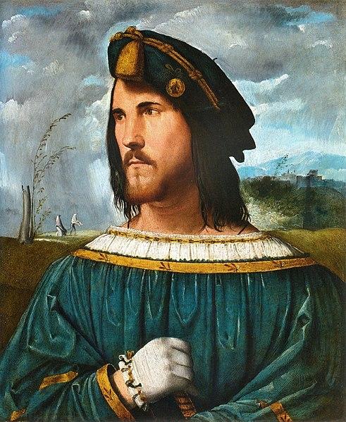 Lo Statuto di Lucrezia Borgia - Cesare Borgia in un dipinto