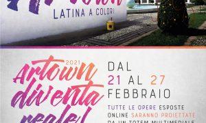 Artown Latina a Colori - Locandina Artown dell'evento