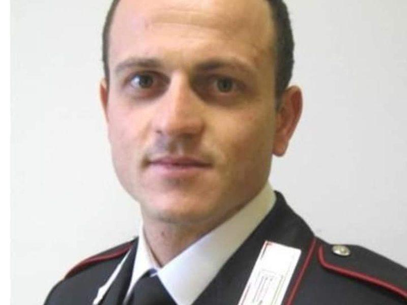 Vittorio Iacovacci- un primo piano del milite