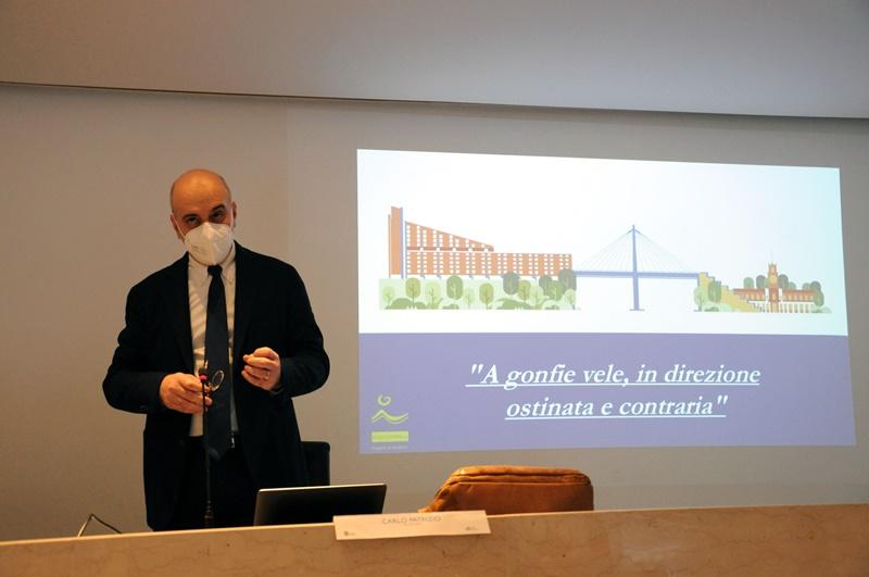 A gonfie vele - Prof Carlo Patrizio e il progetto