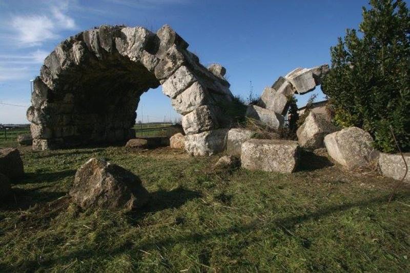 Gli archi di San Lidano - Archi di San Lidano prima del restauro