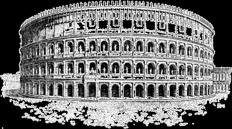 Anfiteatro romano a Fondi - Colosseo ricostruito