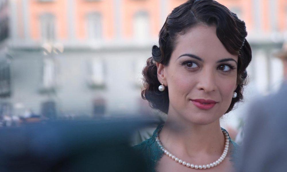 Serena Iansiti - l'attrice pontina ne Il Commissario Ricciardi