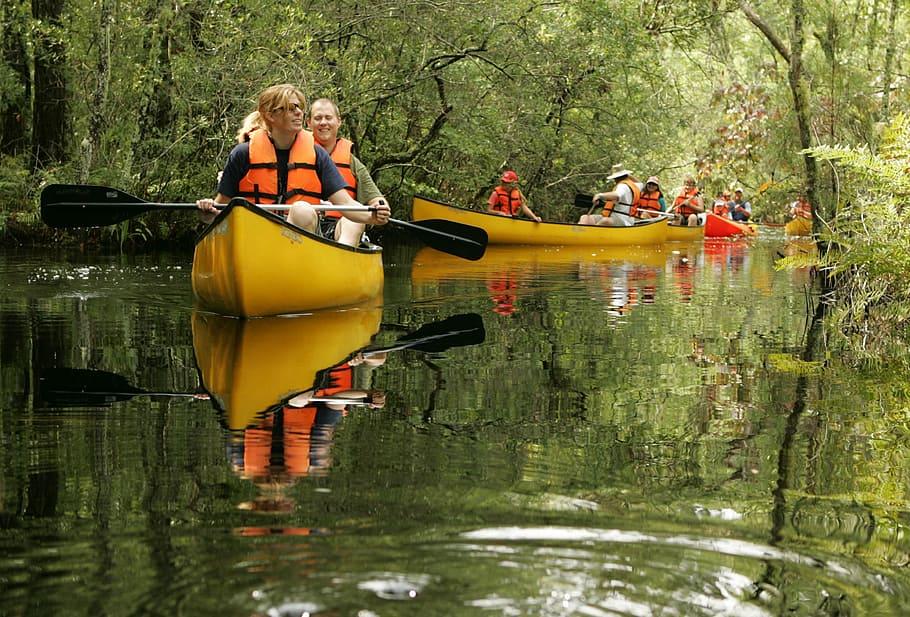 Il fiume Cavata in canoa - Canoe lungo il fiume Cavata
