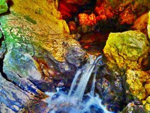 Fiumi carsici e grotte pontine - sorgente che alimenta l'amaseno