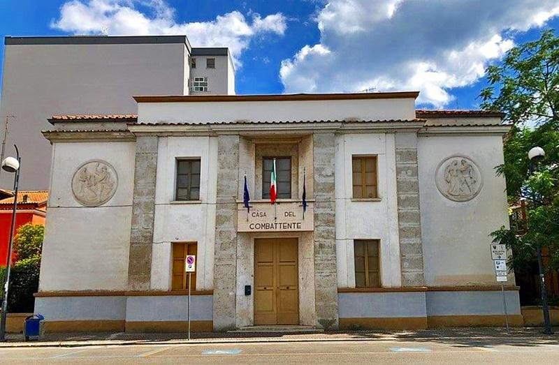 La casa del combattente - Edificio Storico odierno