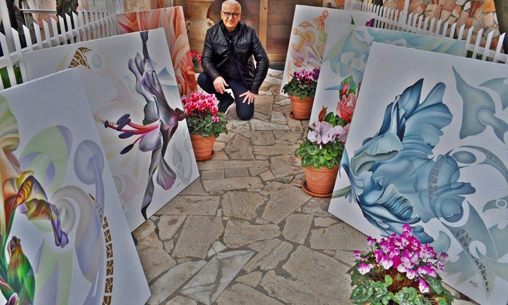 Raffaele Aprile - Mostra con l'autore