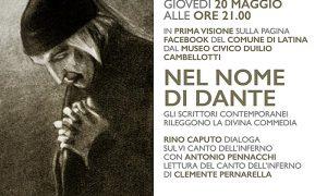 Latina legge la Divina Commedia - Nel Nome Di Dante, la locandina