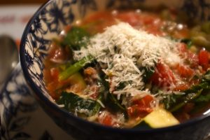 La Bazzoffia - Zuppa Con Parmigiano e verdure fresche