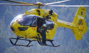 Volontari di Protezione Civile a Latina - Protezione civile in elicottero