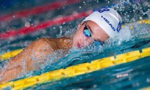 Pontini alle Olimpiadi - Matteo Ciampi che gareggia