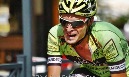 Cristian Nardecchia - l'atleta durante una gara