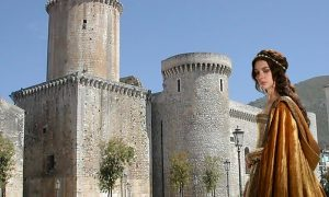 Giulia Gonzaga - nobildonna Giulia e il castello di Fondi