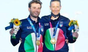 Oro italiano nella vela - Oro nella Vela dopo la premiazione