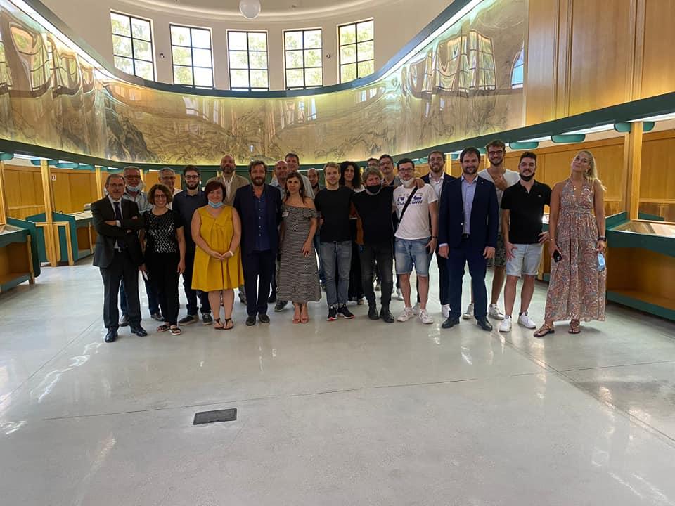 Scopriamo il nuovo museo Civico - Schierati dentro il museo