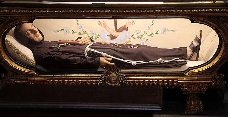 San Carlo Da Sezze - il corpo del santo