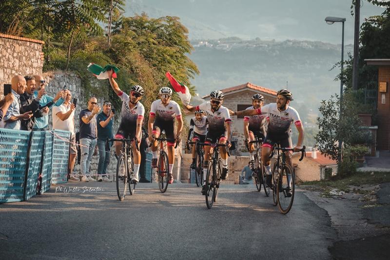 Cristian Nardecchia Campione del mondo - Il Gruppo che avanza su strada