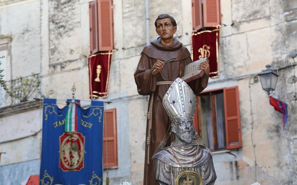 San Carlo da Sezze - San Carlo In Processione con San Lidano