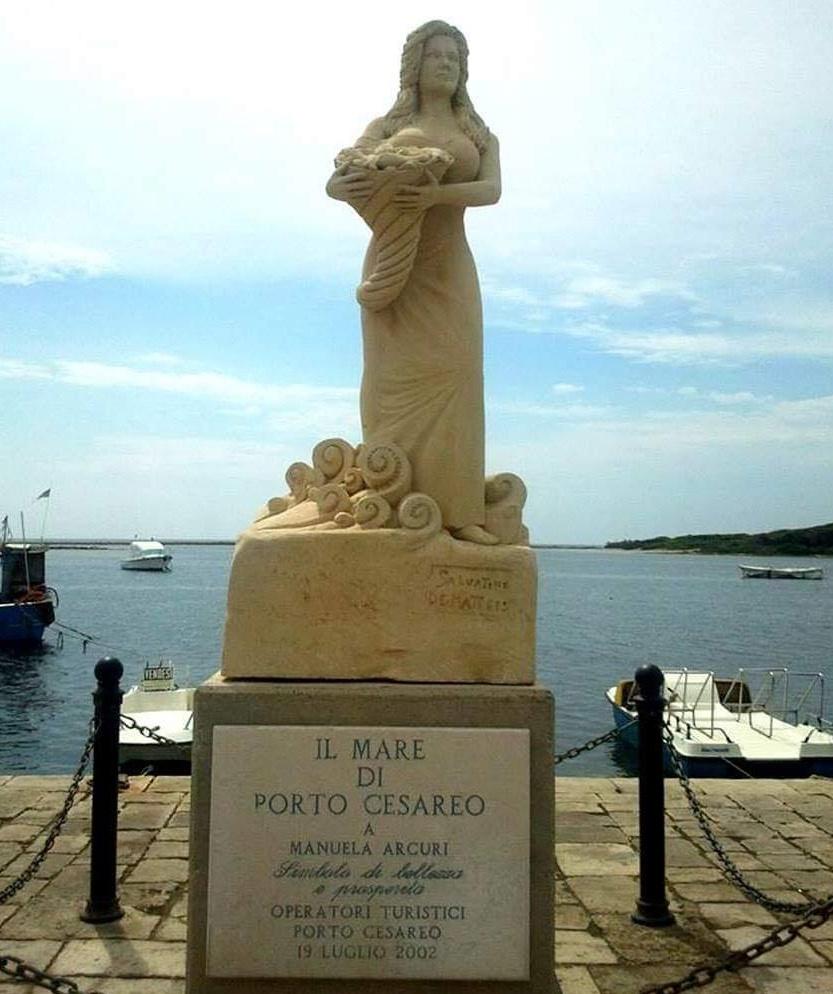 mare - Statua a San Cesareo