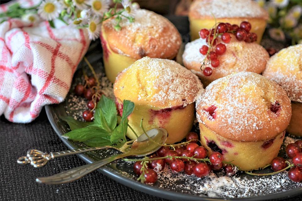 il ribes rosso - Muffins confezionati con ribes