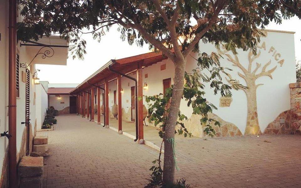 Masseria La Fica - interno della struttura