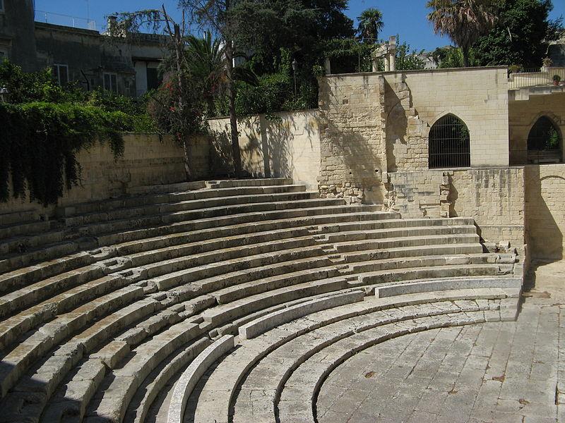 800 Teatro Romano Lecce