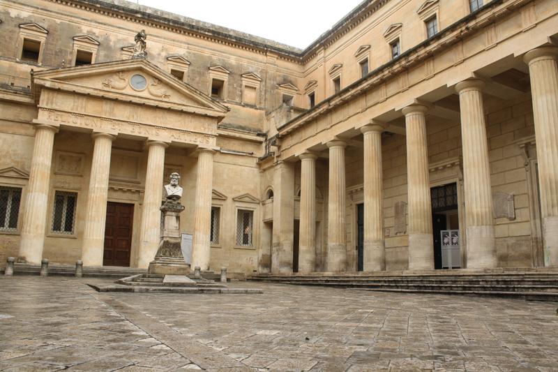 Chiesa Di San Francesco A Lecce Della Scarpa