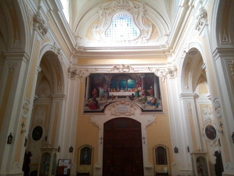 Tricase Vincenzo De Micheli - Interno della chiesa Matrice