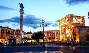 Piazza Sant'oronzo - veduta della piazza