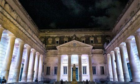 Piazzetta Carducci di notte