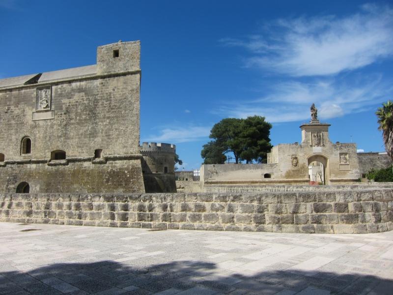 Castello di Acaya - panorama