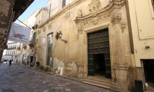 chiesa san giuseppe di lecce vista dalla strada