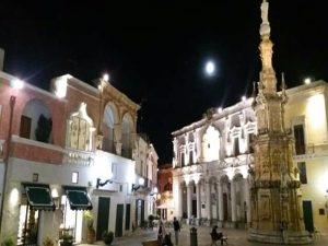 Piazza Salandra - tripudio del barocco