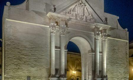 Piazzetta Arco di Trionfo e Porta Napoli Lecce
