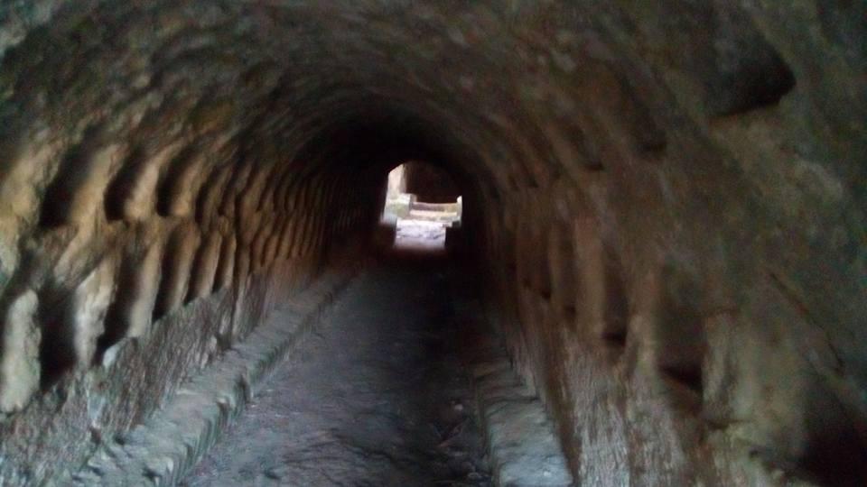 Tenuta Torre Pinta - il corridoio ipogeo
