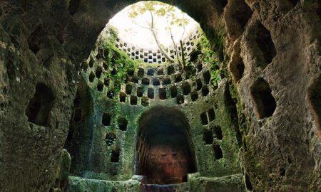 Tenuta Torre Pinta - ipogeo con urne cinerarie